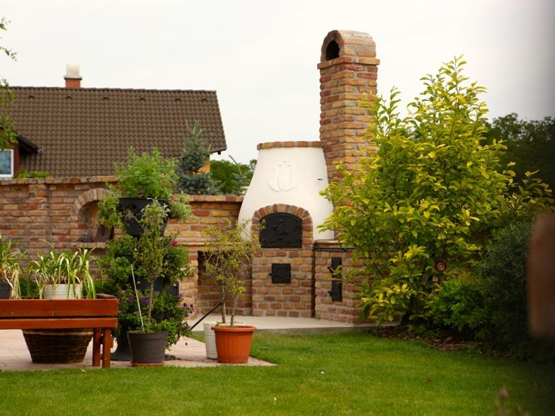 Kültéri konyha, kerti grillező, búbos kemence tervezése | KEMAX